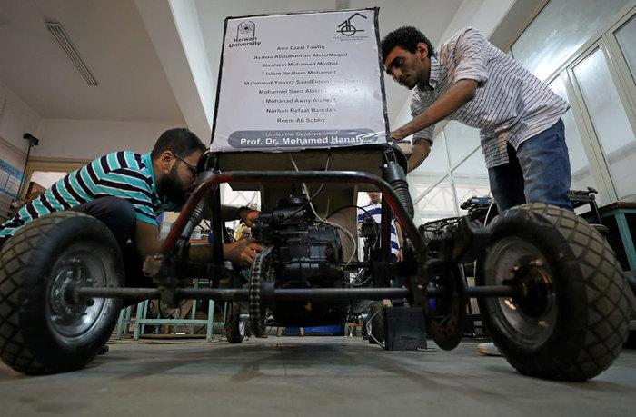Пневматический автомобиль Экология, Египет, Альтернативная энергетика, Авто, Экосфера, Длиннопост, Изобретения, Пневмоход