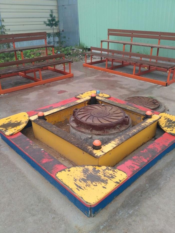 Детская площадка Детская площадка, Выборы, Песочница, Счастливое детсво