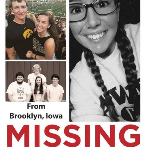Фермер ни при чём: пропавшую в Айове студентку нашли мёртвой. Есть подозреваемый. США, Убийство, Нелегалы, Трагедия, Расследование, Длиннопост, Негатив