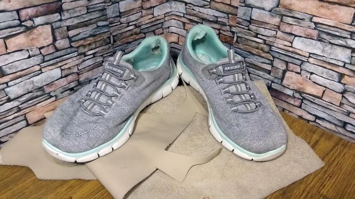 fd6dfa459 Кроссовки, ремонт подкладки. Задники и внутренние латки. Ремонт обуви,  Кроссовки, Задник