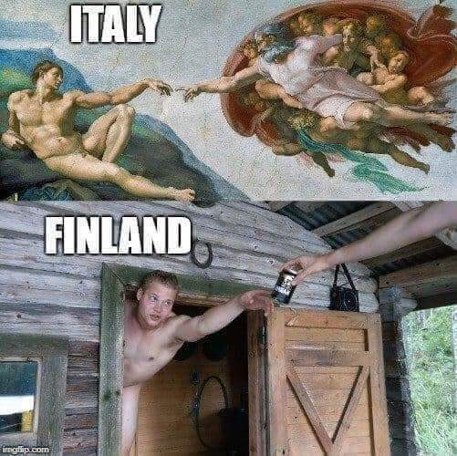 Италия vs. Финляндия