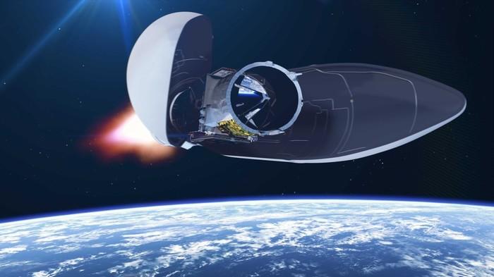Ракета Vega вывела на орбиту спутник Aeolus для исследования климата Земли ESA, Ракета-Носитель, Спутник, Климат, Длиннопост
