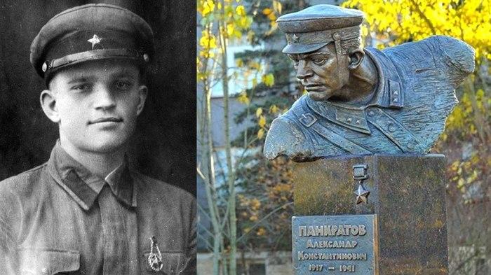 Бессмертный подвиг Александра Панкратова. Подвиг, Великая Отечественная война