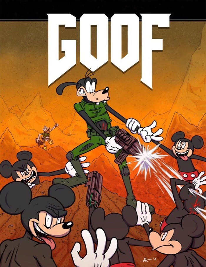 Goof: Hell in the Disney