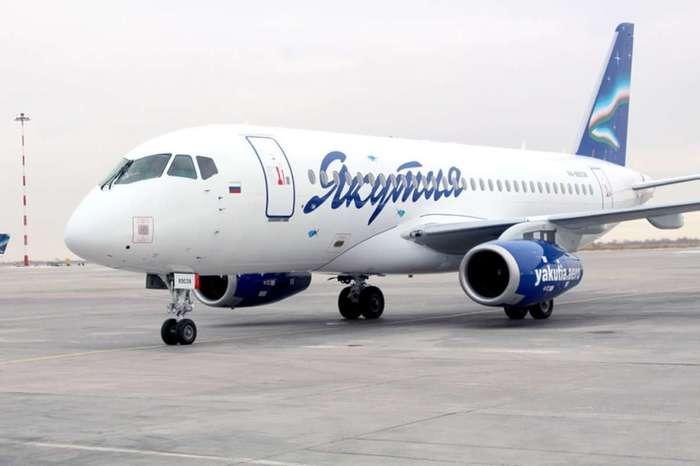 """Авиакомпания """"Якутия"""" планирует отказаться от SSJ 100 Авиация, Авиакомпания Якутия, Sukhoi Superjet 100, Ssj100, Эксплуатация"""
