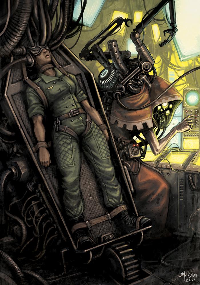 РаботыMcGibs Warhammer 40k, Wh art, Dark Heresy, Длиннопост
