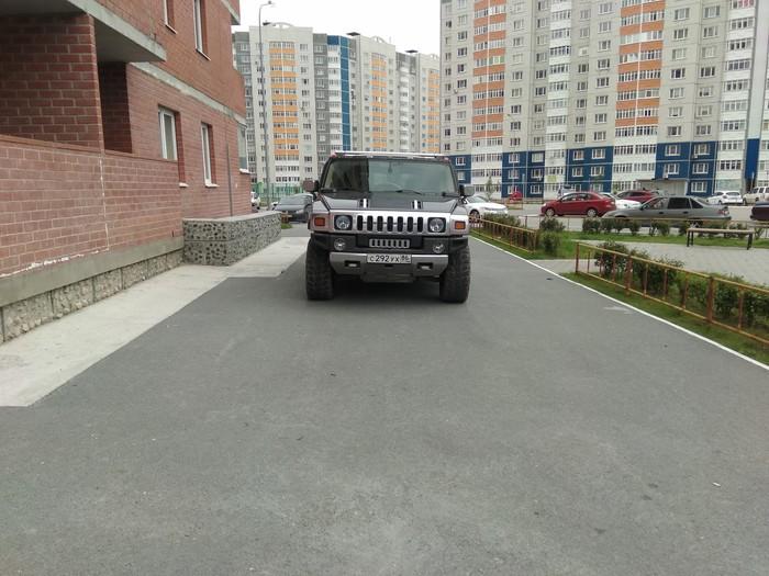 Очередной херой от слова х(тут буква е)р Тюмень, Неправильная парковка, Олень, Длиннопост