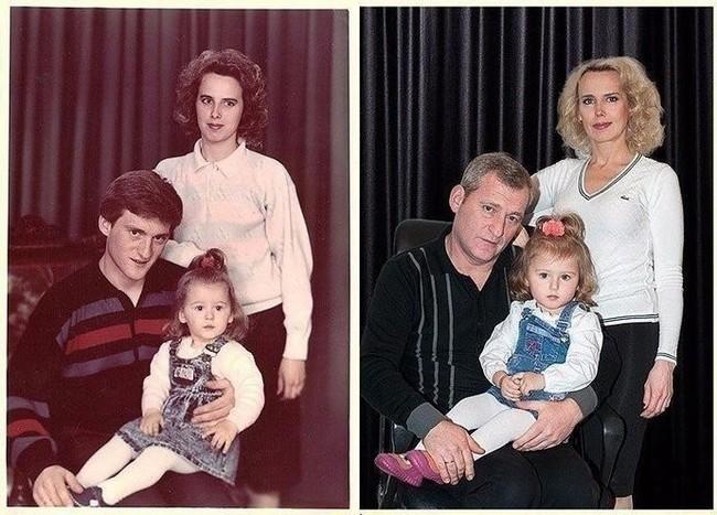 30 лет спустя, но уже с внучкой