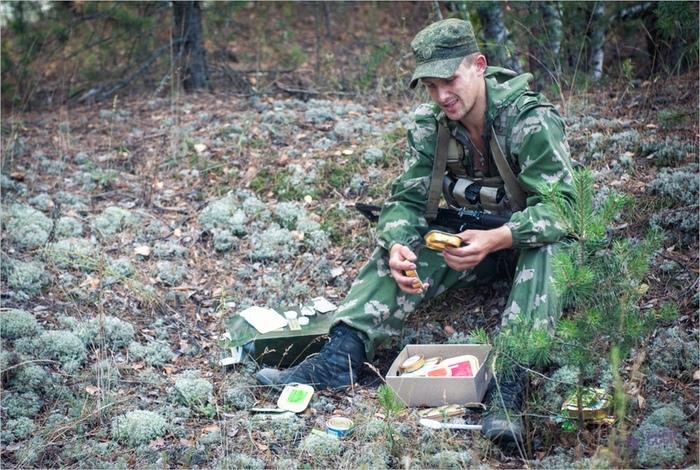 Особенности питания разведчика в зоне конфликта .Ч 1. Питание, Войска, Военные мемуары, Длиннопост, Ирп
