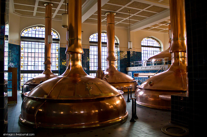 Экскурсия на Feldschlsschen — самый главный пивной завод Швейцарии Производство, Алкоголь, Завод, Швейцария, Длиннопост