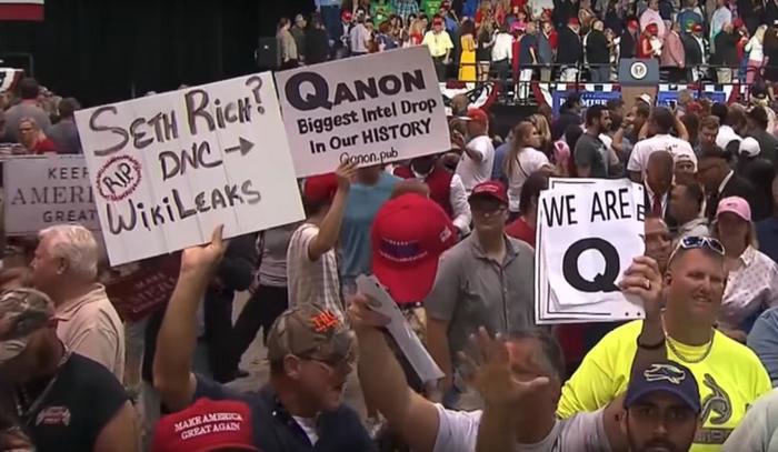 «Сотрудник военной разведки» поднимает народ Америки на защиту Белого дома США, Трамп, Путч, QAnon, Клинтон, Обама, Wikileaks, Политика, Длиннопост