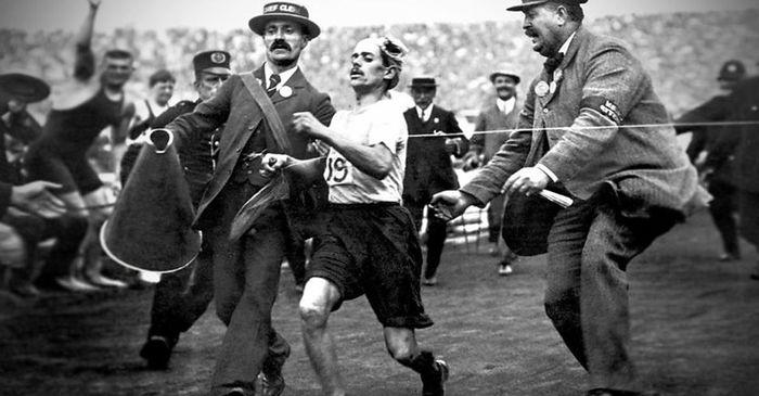 Главное не победа, а участие История олимпийских игр, Марафонский бег, Олимпийские игры в Лондоне 190, Длиннопост