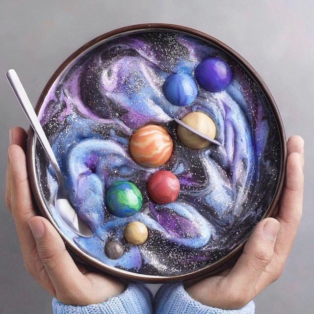 Завтрак космонавта