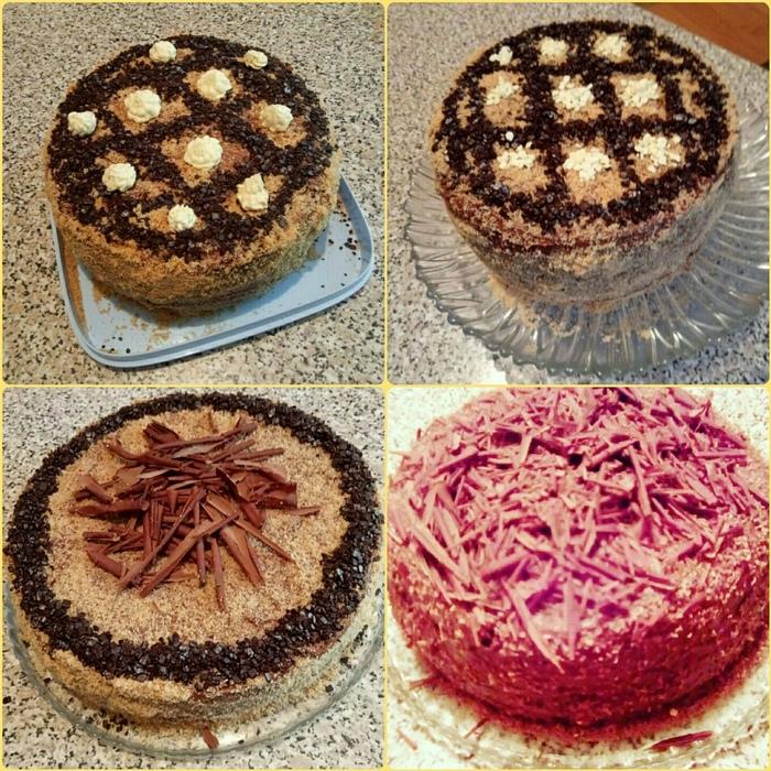 Домашний торт с шоколадным кремом Еда, Торт, Десерт, Приятного аппетита, Шоколад, Длиннопост, Кулинария, Рецепт