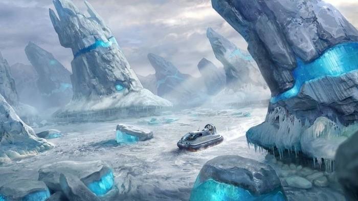 Subnautica получит «морозное» дополнение Subnautica, Подводный мир, Игры, Длиннопост