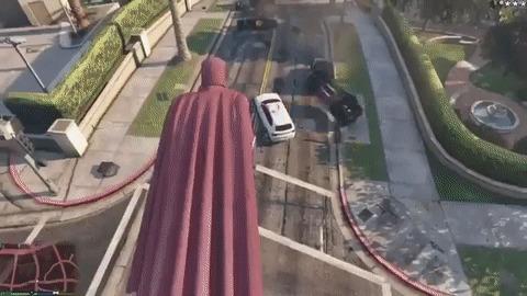 Магнето в GTA