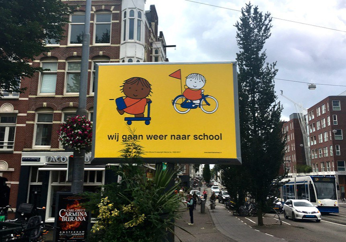 Начало учебного года в Голландии Нидерланды, Голландия, 1 сентября, Школа
