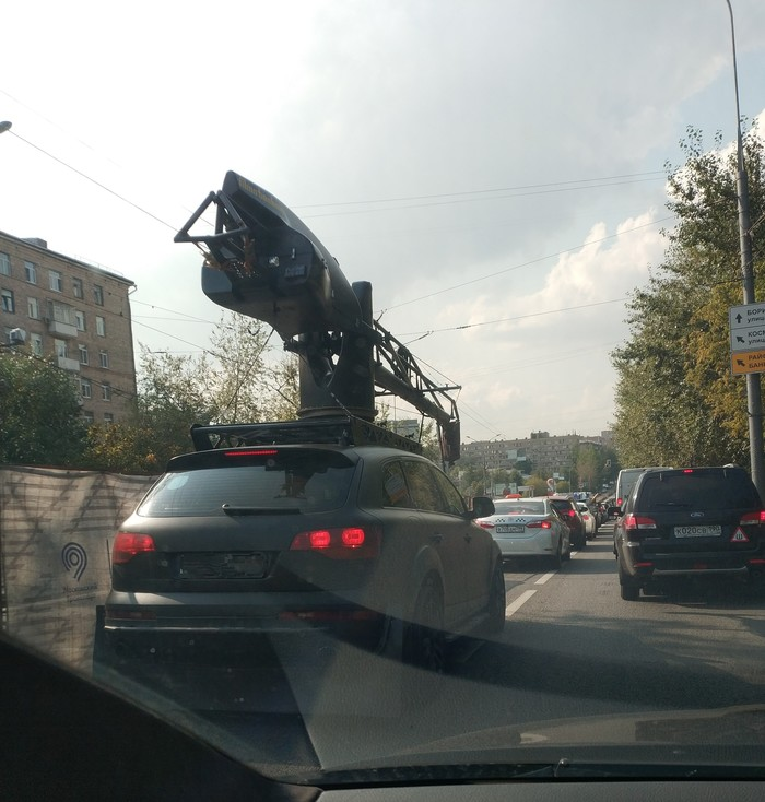 Лучший тюнинг на Audi Q7 Моё, Тюнинг, Крановщик, Спецтехника, Ручная работа, Genius
