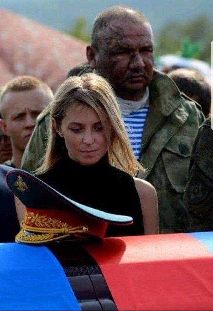 Фото с похорон Александра Захарченко