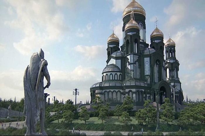 Храм от Минобороны РПЦ, Минобороны, Собор, Длиннопост