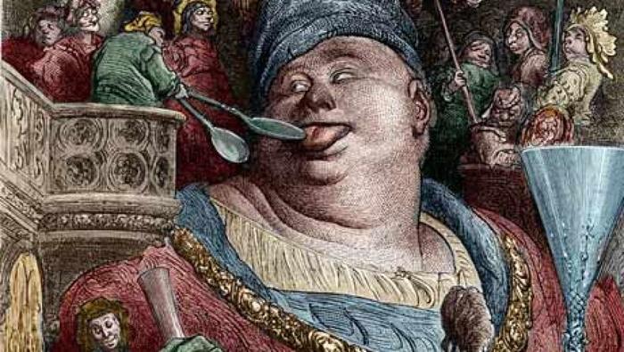 Трагическая история «самого прожорливого человека» Франция, Таррар, 18 век, История, Странности, Странные люди, Фрики, Известные личности, Длиннопост
