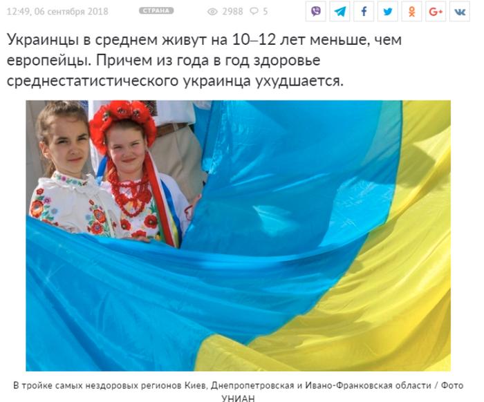 Украинцев признали самой больной нацией в Европе Украина, ВОЗ, Африка, Афганистан, Политика, Россия, Молдова, Белоруссия