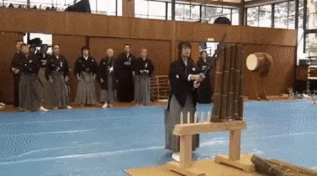 Соревнование самураев