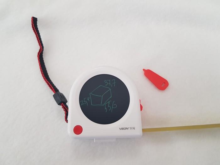 Рулетка с LCD полем для  заметок. Рулетка, Новое, Ремонт, Строительство, Гифка
