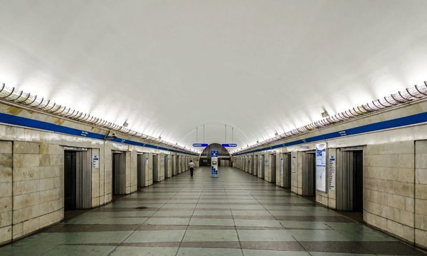 """Why in the Leningrad subway built stations with doors on the platform? stations,stations, cheaper, closed, only, Leningrad, doors, doors, Petersburg, """"double, time, station, such, doors"""", trains, station, deep, which, First, football"""