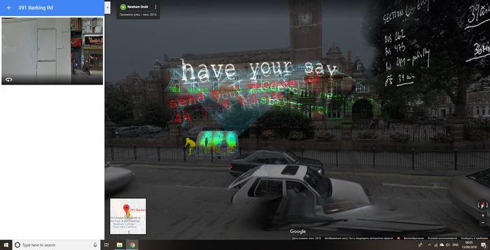 Аномалия в Google maps Google maps, Русские хакеры, Аномалия, Лондон