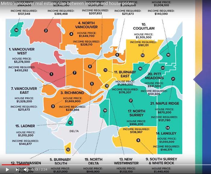 Metro Vancouver недвижимость: разрыв между доходом и ценами на жилье. (это интересно) Канада, Ванкувер, Недвижимость, Недвижимость за рубежом, Покупка недвижимости, Видео, Длиннопост