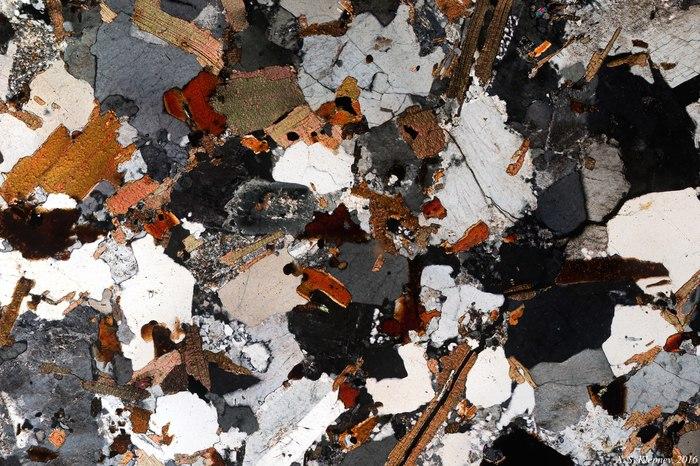 Шлифы горных пород Микроскоп, Поляризация, Шлифы
