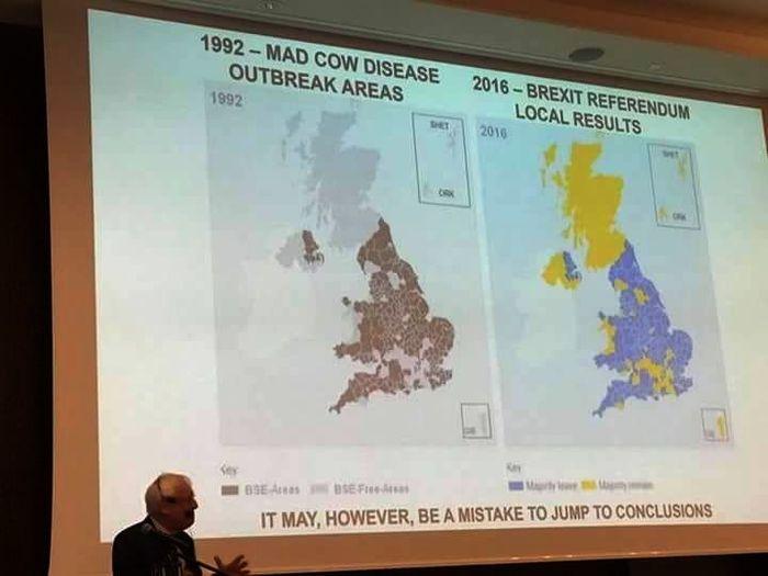 Бывают и просто совпадения Великобритания, Brexit, Политика, Совпадение