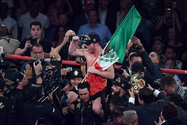 Геннадий Головкин потерпел первое поражение в карьере Бокс, Боевые искусства, Геннадий Головкин, Сауль Альварес, Поражение, Бой, Видео, Длиннопост