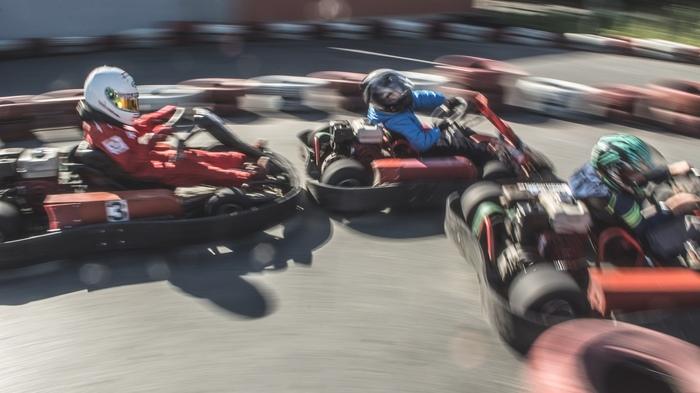 У детей взрослые гонки. Спорт, Картинг, Фотография, Длиннопост