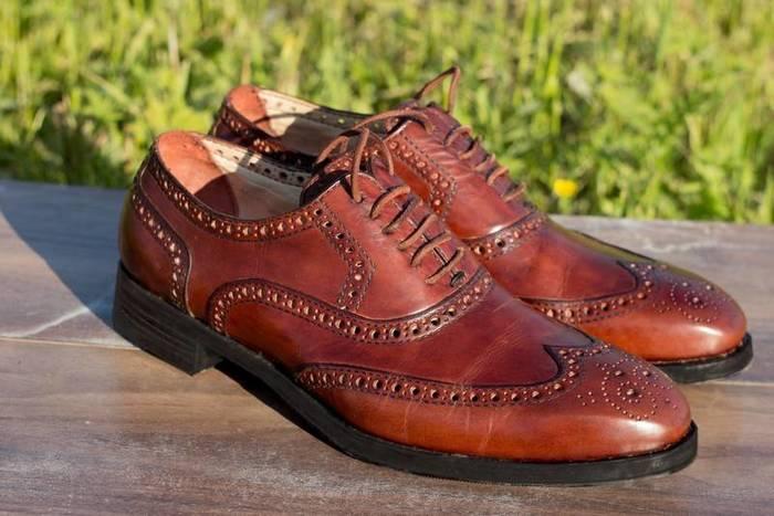 Себестоимость обуви ручной работы. Кожа, Обувь, Ручная работа, Обувь ручной работы, Растишка, Броги, Текст