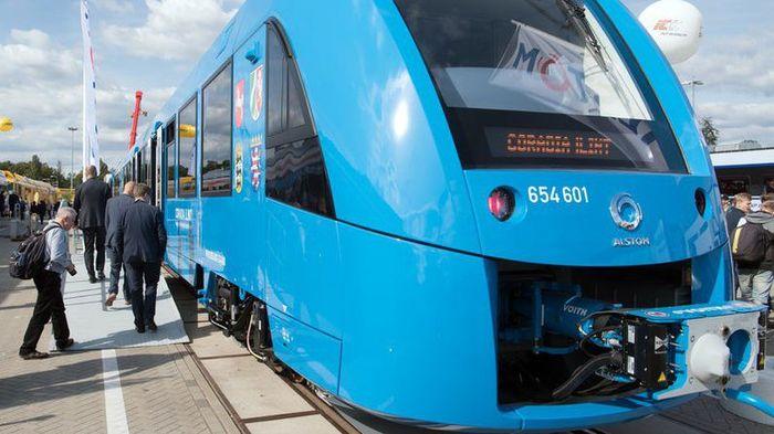 Первый в мире поезд на водородном топливе запустили в Германии Германия, Экология, Водородное Топливо
