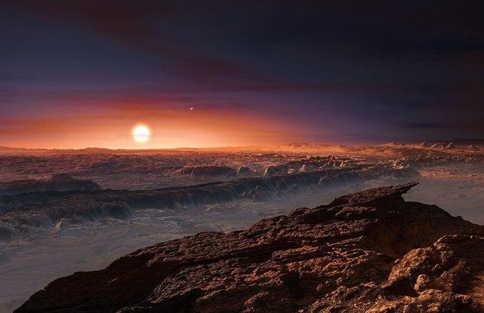 NASA: на ближайшей к нам экзопланете может существовать жизнь Космос, Экзопланеты, Прксима, Проксима Центавра, Копипаста