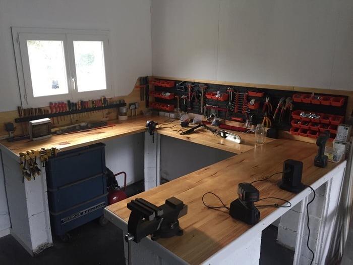 Идеальное рабочее место Рабочее место, Инструменты, Мужики поймут
