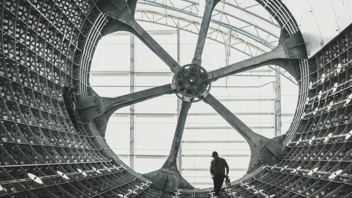 Производственный цех BFR. Илон Маск, BFR, Spacex, Луна, Космос, Фотография, Falcon 9, Длиннопост