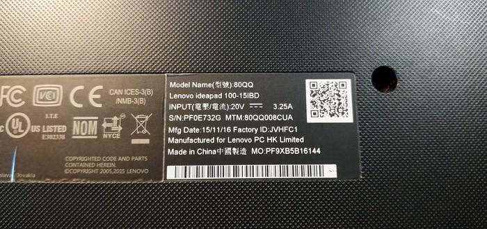 Очередной Lenovo Lenovo, Охлаждение, Дыра