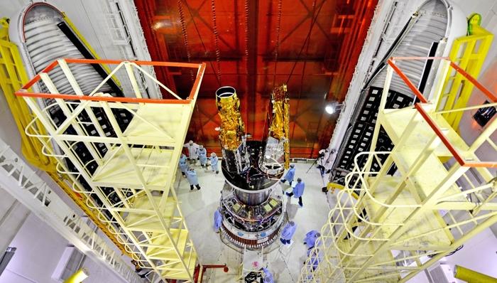 Индийская ракета-носитель успешно выводит на орбиту два британских спутника Космос, Индия, PSLV, Запуск, Спутник, Техника, Технологии, Длиннопост