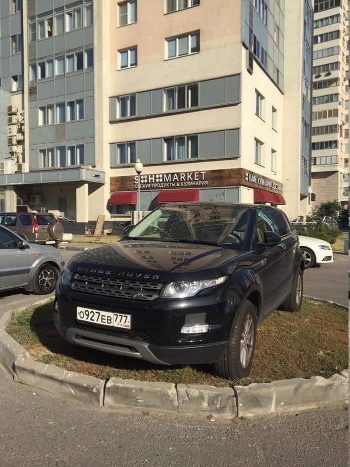 Островок для Range Rover