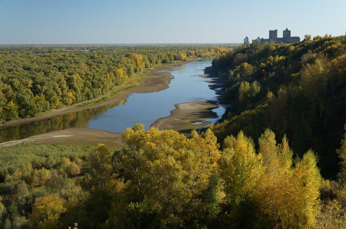 Начало осени Фотография, Осень, Пейзаж, Сибирь, Река