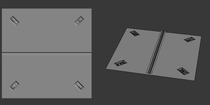 Floating geometry: простой пример Cgimedia, 3ds max, Урок, Длиннопост, 3d моделирование