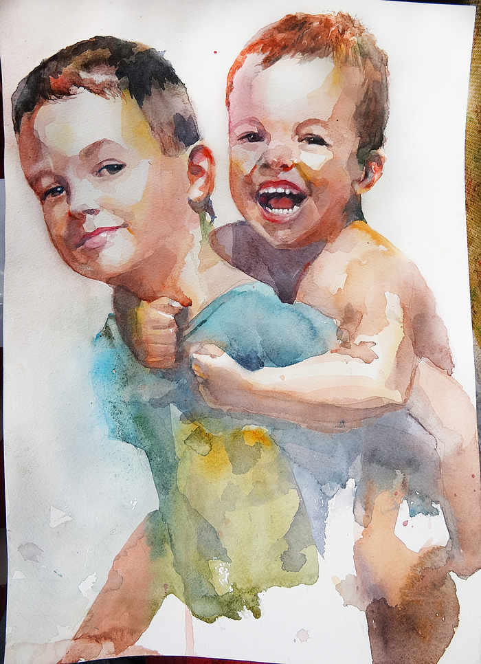 Портрет. Племянники