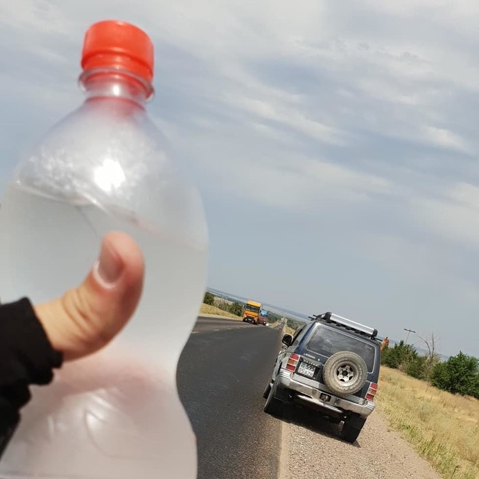 Велопробег от южной (Алмата) до северной (Астана) столицы, всего ~1200 км. Будет много букв... Длиннопост, Длиннотекст, Велопутешествие