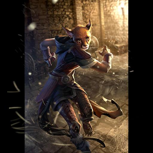 The Elder Scrolls: Legends. Каджиты. The Elder Scrolls: Legends, Арт, Хаджит, Карты, Длиннопост