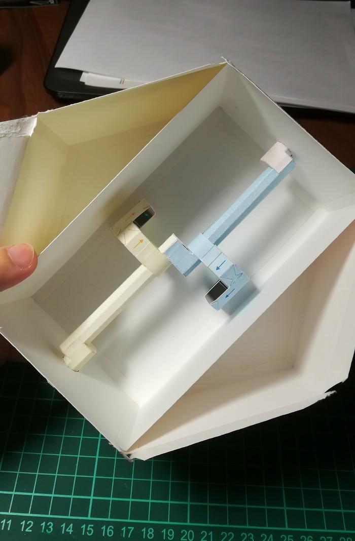 """Бумажное моделирование: движущаяся модель """"Танцующие куклы"""" Papercraft, Кукла, Мальчик, Девочка, Танцы, Гифка, Длиннопост"""