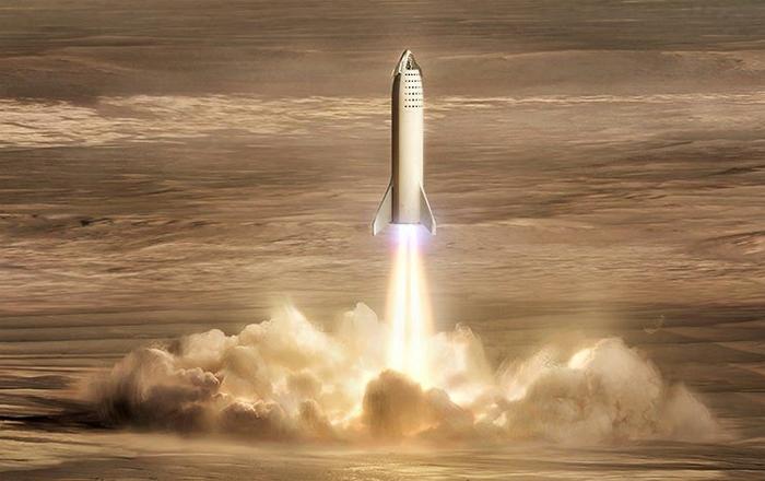 Марсианская база SpaceX Spacex, Илон Маск, Космос, Интересное, Длиннопост